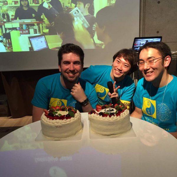CoderDojo Japan法人化のお祝い!